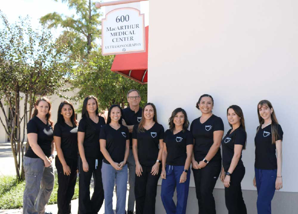 Sonogram Ultrasound staff